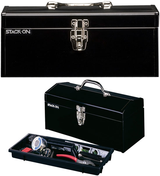 Stack-On 16-inch Steel Tool Box