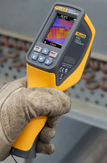 Fluke VT04 Visual IR Thermometer