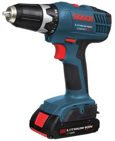 Bosch DDB180-02 Compact Cordless Drill Driver Kit