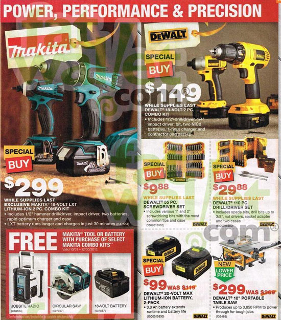Home Depot Black Friday 2013 Tool Deals Page 13