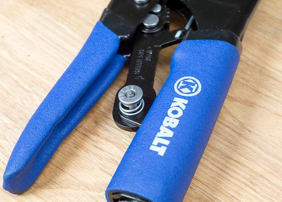 Kobalt Magnum Grip Locking Pliers Button