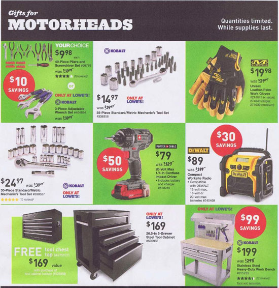 Lowes Black Friday 2013 Tool Deals Page 5