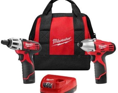 Milwaukee M12 Screwdriver and Impact Driver Kit