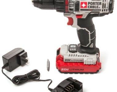 Porter Cable 20V Drill Driver Kit PCC606LA