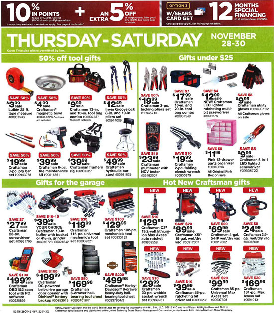Sears Black Friday 2013 Tools Page 53