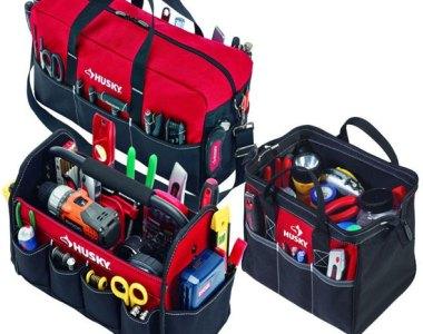 Husky 3 Tool Bag Combo