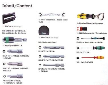 Wera 2013 Advent Calendar Tool Assortment