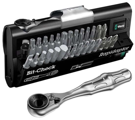 Wera Bit Ratchet Set