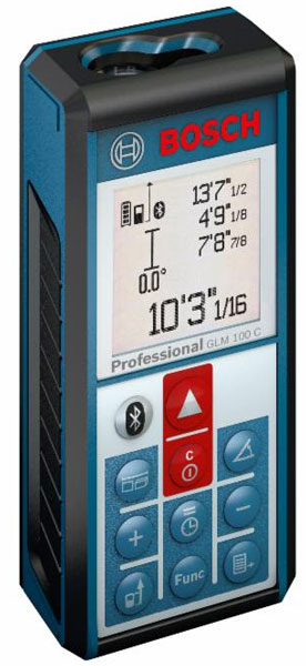 Bosch GLM 100 C Bluetooth Laser Measuring Tool