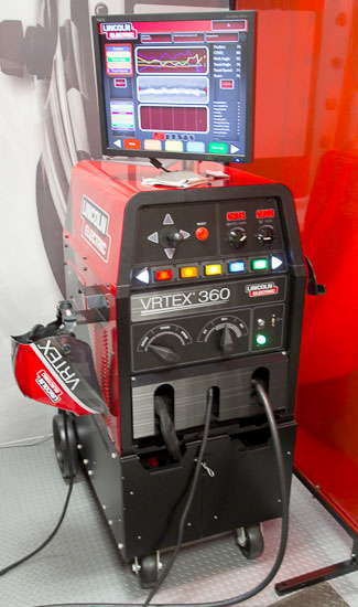 Lincoln Electric Virtual Reality Welding Equipment