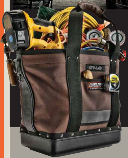 Veto Pro Pac Cargo Tote Tool Bag Filled with Tools
