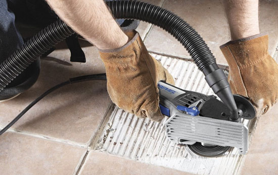 Dremel Ultra-Saw Grinding Mortar with Vacuum Adapter