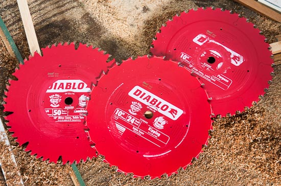 Freud Diablo Miter and Table Saw Blades