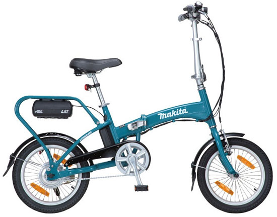 Makita 18V LXT Folding Bicycle