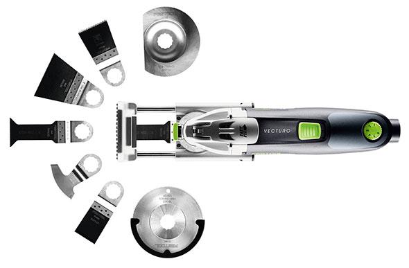Festool Vecturo Oscillating Multi-Tool Product Family