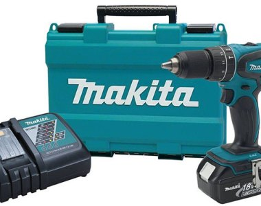 Makita 18V Hammer Drill Kit XPH012