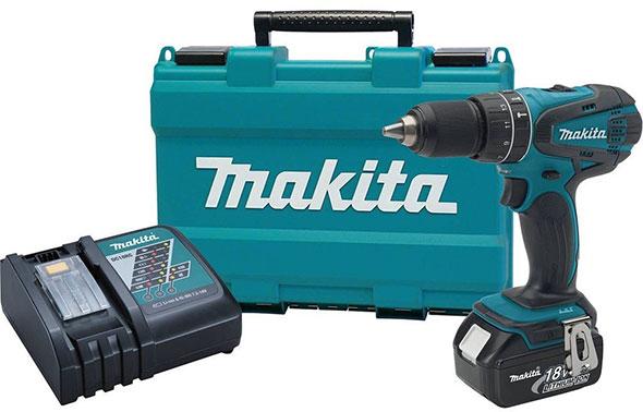 Makita 18V Hammer Drill Kit XPH012