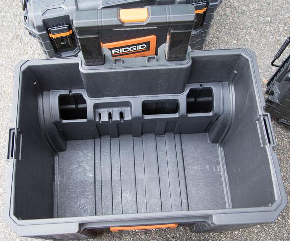 Ridgid Pro Tool Box Cart Hand Tool Organizer