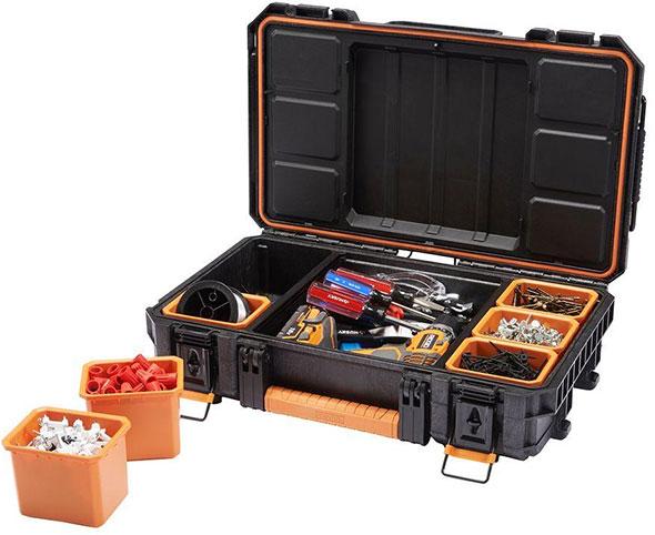 Ridgid Pro Tool Box Organizer Bins