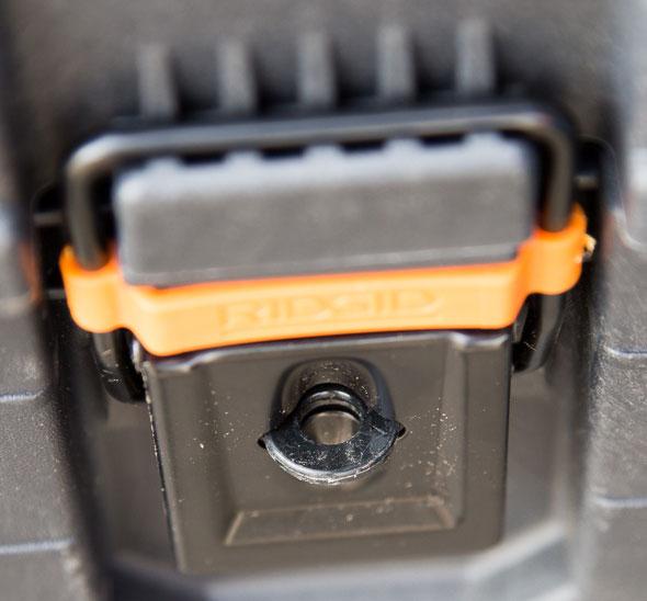 Ridgid Pro Tool Box Padlock Ring