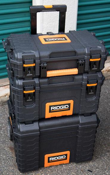 Ridgid Pro Tool Box Stack