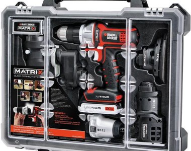 Black Decker Matrix 6-Tool Combo Set BDCDMT1206KITC