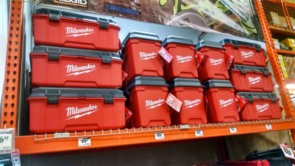 Black Friday 2014 Milwaukee Tool Boxes at Home Depot