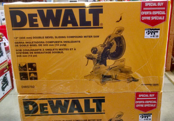 Dewalt DWS782 Sliding Miter Saw