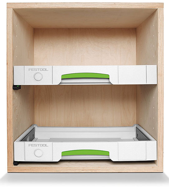 Festool Sys-AZ Systainer Drawer Project Example