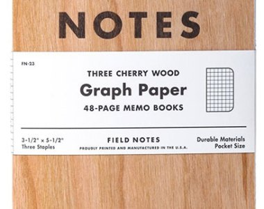Field Notes Pocket Notebook Charry Wood Cover