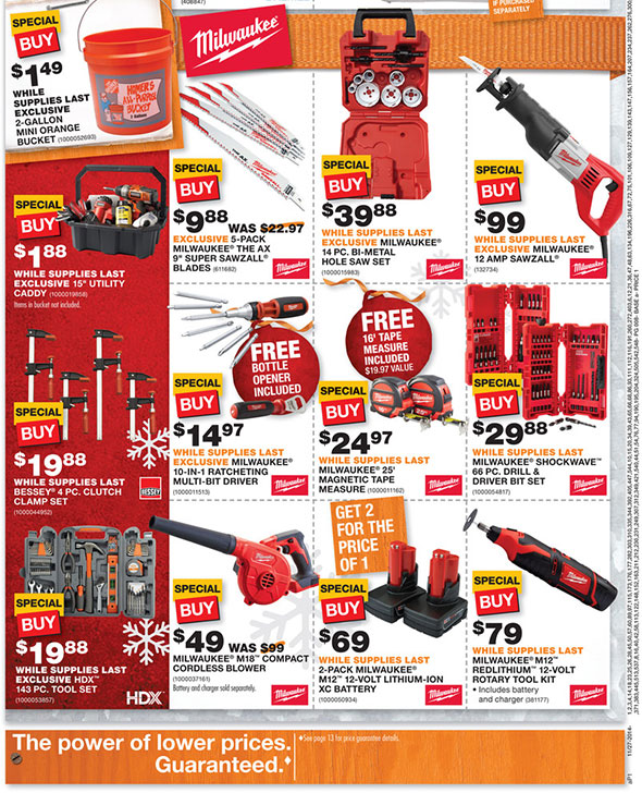 Home Depot Black Friday 2014 Page 7
