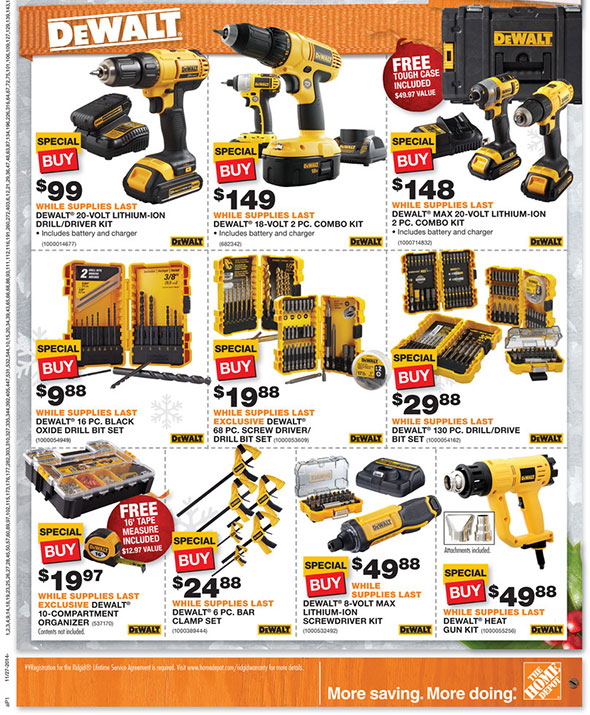 Home Depot Black Friday 2014 Page 9