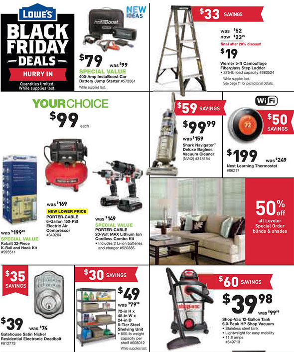 Lowes Black Friday 2014 Tool Deals Page 10