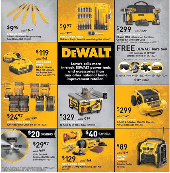 Lowes Black Friday 2014 Tool Deals Page 2