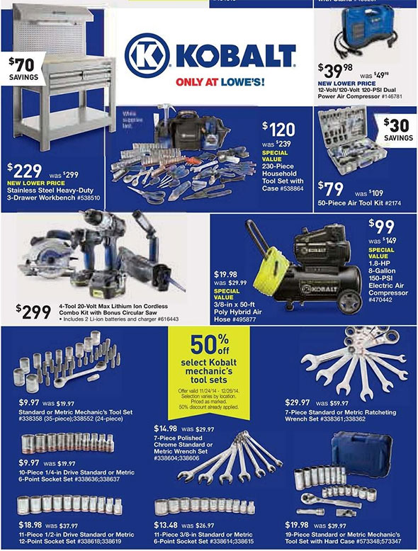 Lowes Black Friday 2014 Tool Deals Page 5