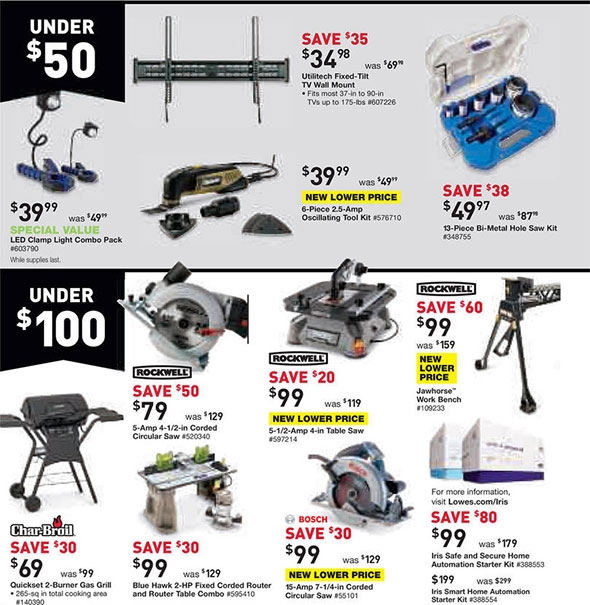 Lowes Black Friday 2014 Tool Deals Page 7