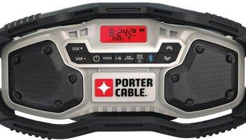 dewalt speaker. new porter cable bluetooth jobsite radio dewalt speaker