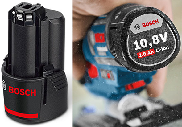 Bosch 12V Max 2-5Ah Battery Pack