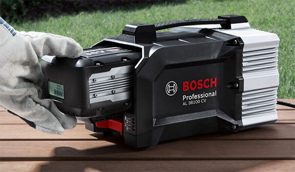 Bosch 36V Lawn and Garden Tool Battery Charger