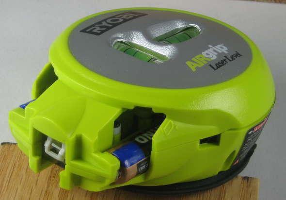 Ryobi AirGrip Battery Access