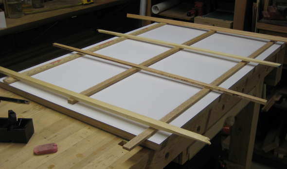 Tweaking the layout of the T-track table