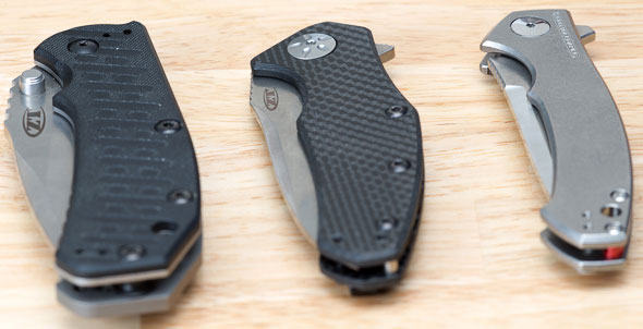 Zero Tolerance 0450 Knife Compared to 0550 and 0770CF