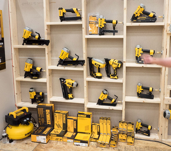 Dewalt Air Nailer Lineup