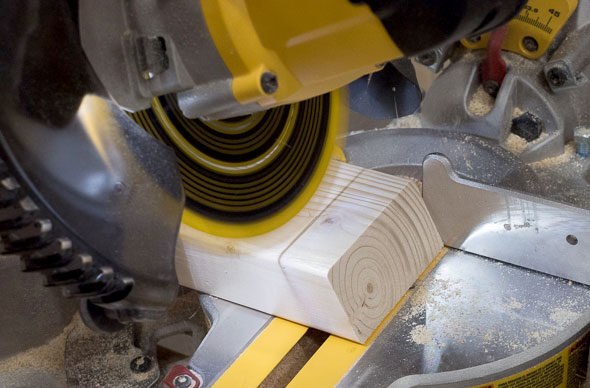 Dewalt Cordless Miter Saw XPS Lighting Cut Guide