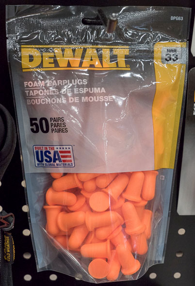 Dewalt Foam Earplugs