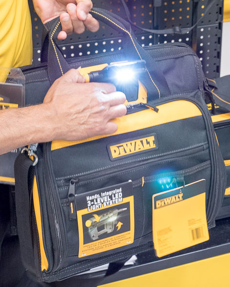 Dewalt Lighted Tool Bag