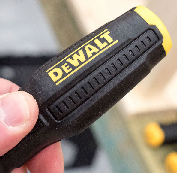 Dewalt Screwdriver Overmolded Grip