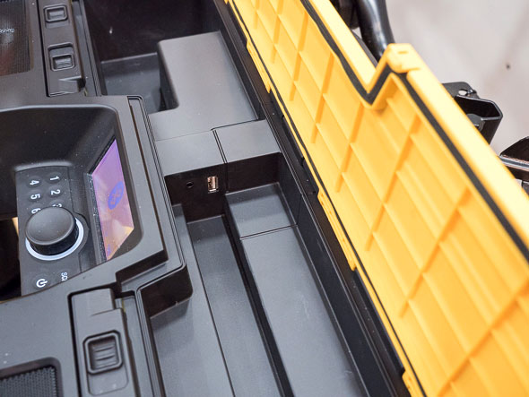 Dewalt ToughSystem Bluetooth Radio Compartment Seal and USB