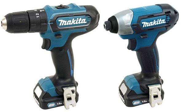Makita CT226 12V CXT Drill and Impact Driver Combo
