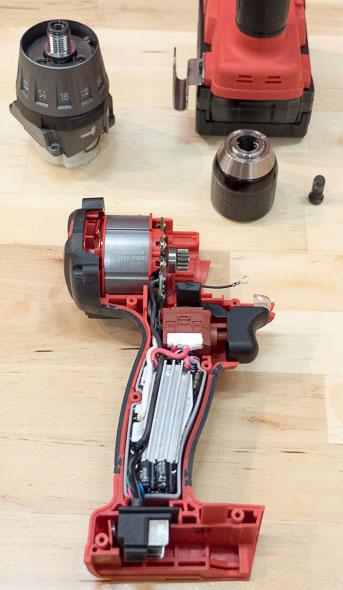 Milwaukee 2704 M18 Fuel Hammer Drill Parts